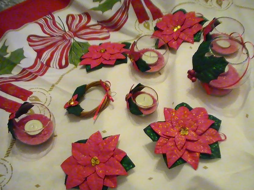 Flores en goma eva en Navidad. | →Flores En Goma Eva : Libro GRATIS ...