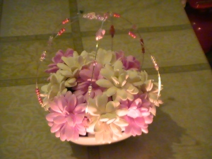 flores en goma eva